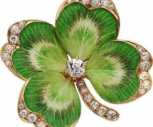 brooch, green, and jewelry image