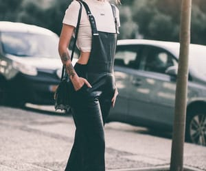 dungarees, fashion, and inspo image