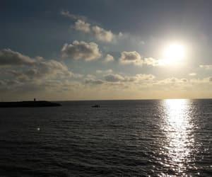 amazing, sea, and sky image