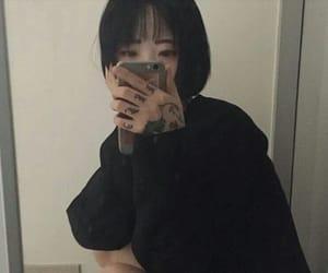 girl, goth, and korean image