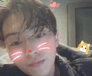 boys, christian yu, and grainy image