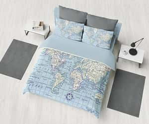 etsy, bedroom decor, and travel decor image