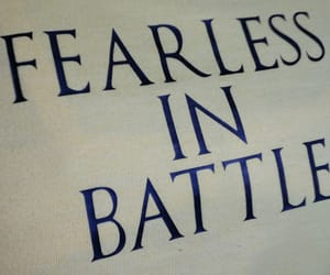 battle, fearless, and motivational image