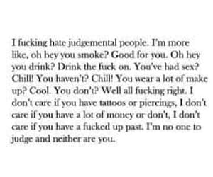 judge, judgement, and quotes image