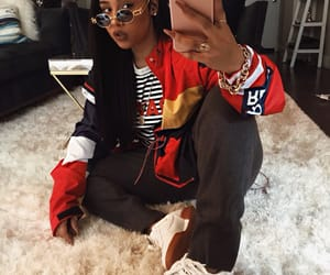 fashion, black, and brown image