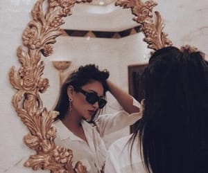 girl, mirror, and shay mitchell image
