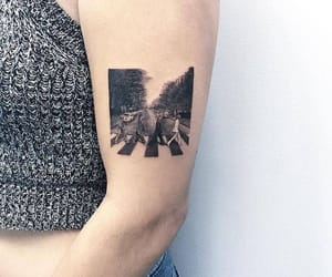 tattoo, the beatles, and art image