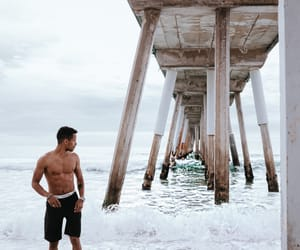 beach, travel, and love image