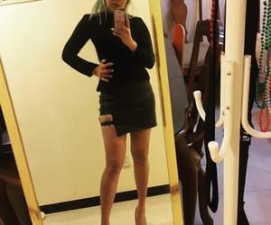 dress, self, and girl image