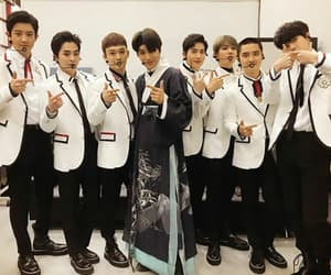 exo, kpop, and SM image