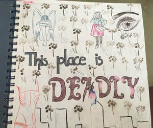 abuse, anxiety, and journal image