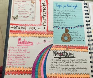 anxiety, creative, and journal image