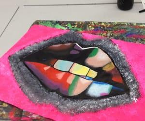 colour, lips, and teeth image