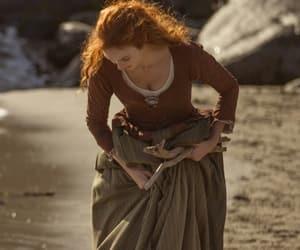 barefoot, irish, and red hair image