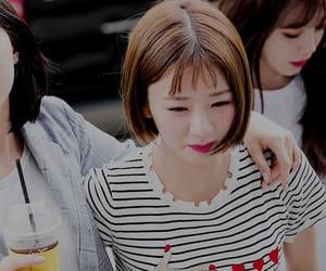 kpop, oh hayoung, and pinkpanda image