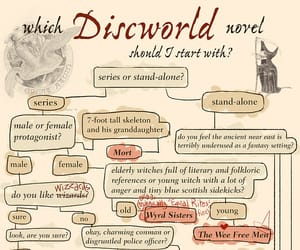 discworld, terry pratchett, and guide image