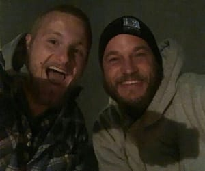 vikings, alexander ludwig, and travis fimmel image