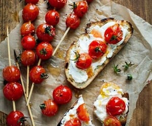 food, tomato, and delicious image