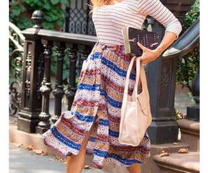 actress, bag, and outfit image