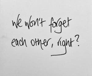 love, quotes, and forget image