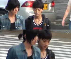 kris, tao, and predebut image