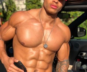 abs, fitness, and Man Crush image