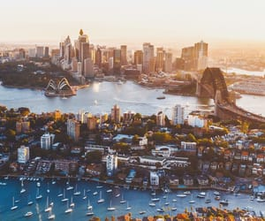 australia, summer, and city image