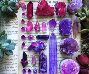 book and crystal image