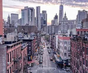 architecture, manhattan, and view image
