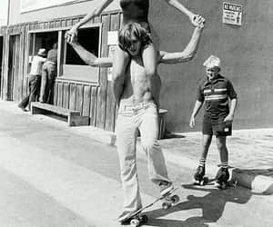 vintage, couple, and 70s image