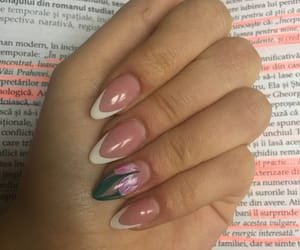 nails, pink, and unghii image