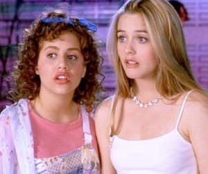90s, Clueless, and girls image