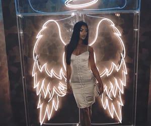 angel, bar, and dress image