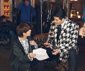 one, jaewon, and korean actor image