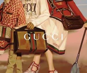 gucci, wallpaper, and woman image