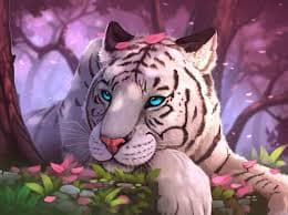animals, white tiger, and 30 days writing challenge image
