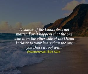 distance, family, and life image
