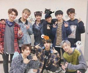 stray kids, felix, and hyunjin image