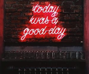 wallpaper, neon, and red image