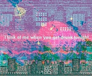drunk, quotes, and wallpaper image