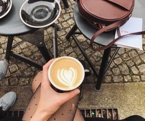 coffee, girl, and mood image