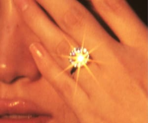ring, diamond, and aesthetic image