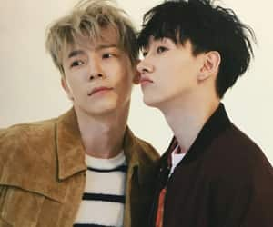 bromance, cutie pie, and donghae image