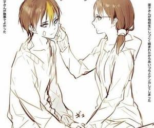 anime girl, couple, and kiyoko shimizu image