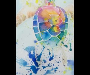 art, drawing, and watercolour image