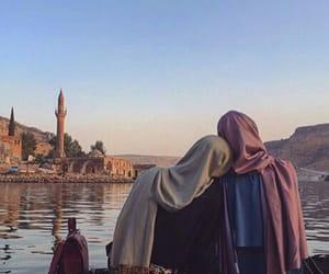 girl, hijab, and sister image