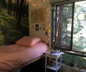 beautiful, bedroom, and lights image