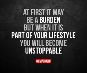 motivation and gymaholic image