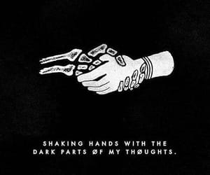 twenty one pilots, dark, and quotes image
