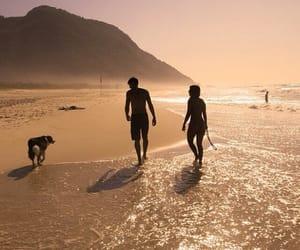 beach, play, and sand image
